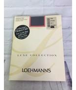 Loehmann's Luxe Collection Silken Sheer Control Top Pantyhose Off Black ... - $14.84