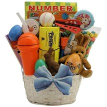 Sports Egg-stravaganza: Easter Gift Basket for Boys Ages 6 to 9 Years Old