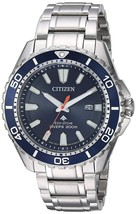 Citizen Men's Eco-Drive Stainless Steel Divers 200 m Watch BN0191-55L image 1
