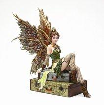 Steampunk Fairy Fairies Rebecca Air Voyage Girl Statue Figurine - $55.99