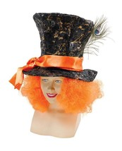 Sombrerero Loco Sombrero & Cabello, Alice IN Wonderland Accesorio de Dis... - £8.69 GBP