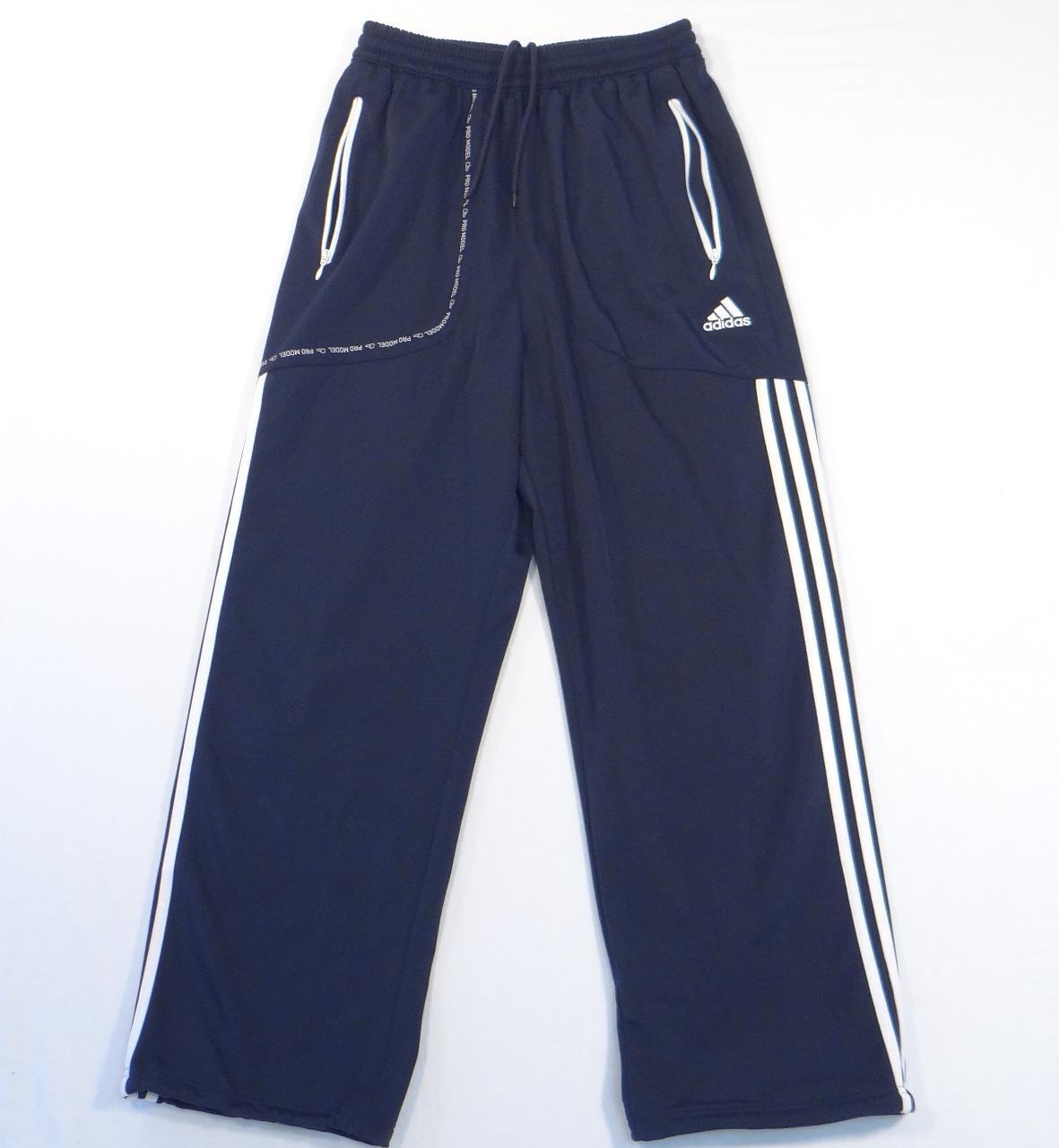 Adidas Signature TS Promodel Navy Blue & White Basketball Pants Men's S NWT - $52.49