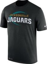 New Mens Nike NFL Black Jacksonville Jaguars Legend Football Icon T-Shir... - $26.99