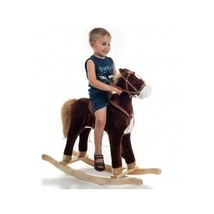 Hobby Horse Rocking For Toddlers Kids Happy Trails Plush Stuffed Ride On... - $100.97