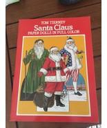 PAPER DOLL Santa Claus Christmas Paper Dolls Book - $7.87