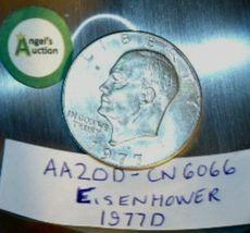 Eisenhower 1977 D Silver Dollar AA20D-CN6066 image 3