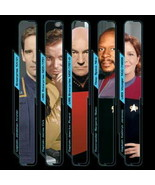Star Trek All 5 TV Series Captains Images T-Shirt NEW UNWORN - $16.44