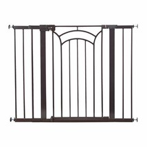 Safety 1st Décor Easy Install Tall & Wide Baby Gate with Pressure Mount ... - $75.05