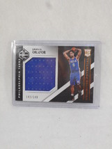2015 Unlimited Potential Jahill Okafor numbered 142/149 relic card - $8.91