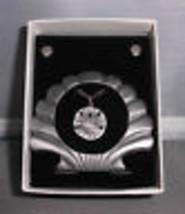 VTG NIB 3 & 1 Picture Frame, Earring, Necklace Set -Sand Dollar Sea Shel... - $9.90
