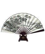 Bamboo Handheld Folding Fan Chinese Silk-Like Folding Fan Home Decoratio... - $24.47