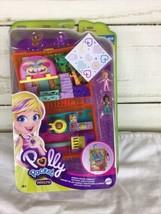 Polly Pocket Jungle Safari Compact- Juice Box, Micro Polly and Shani Dolls NIB - $15.83