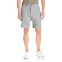 NEW NAUTICA MODERN FIT FLAT FRONT 8 OXFORD BLUE NAVY CASUAL SHORTS $69 - $24.99