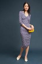 Nwt Anthropologie Medea Ruched Column Dress By Moulinette Soeurs Xsp - $90.24