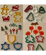 Holiday Christmas Chanukah Thanksgiving Cake Toppers Cookie Cutters Set ... - $9.99+
