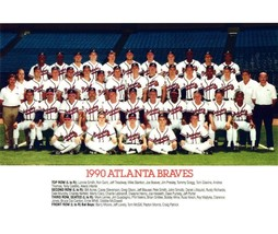 1990 Atlanta Braves 8X10 Team Photo Baseball Picture Mlb - $3.95
