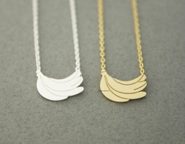 A Bunch Of Bananas Pendant Necklaces In Gold / Silver, N0609G - $11.50