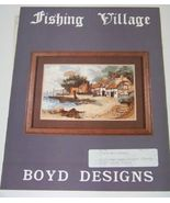 Fishing Village Boyd Designs  - $6.00