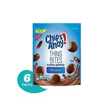 Chips Ahoy! Thins Bites Fudge Dipped Original Cookies, 6 oz Bag - $43.71