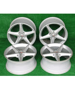 2013 Corvette Wheels 60th Anniversary Set of Four 2 Front and 2 Rear Gre... - $799.99