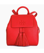 Tory Burch Thea Mini Flap Backpack Bag ~ Brilliant Red Leather New/NWT - $244.95
