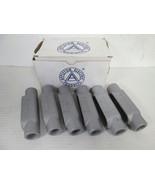 "(6) Appleton  APP C27  Grayloy FM7 3/4"" Conduit Body Type C, **NEW IN BOX** - $44.55"