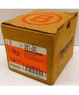 """*BOX OF 19* BRIDGEPORT 261-DC ZINC EMT COUPLINGS, 3/4"""", COMPRESSION COUP... - $10.44"""