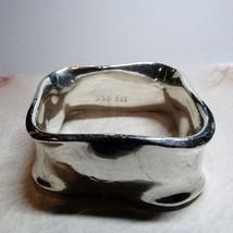 Sterling Silver Modernist Square Bangle Bracelet SSD Simon Sebbag 80.6 G... - $146.52