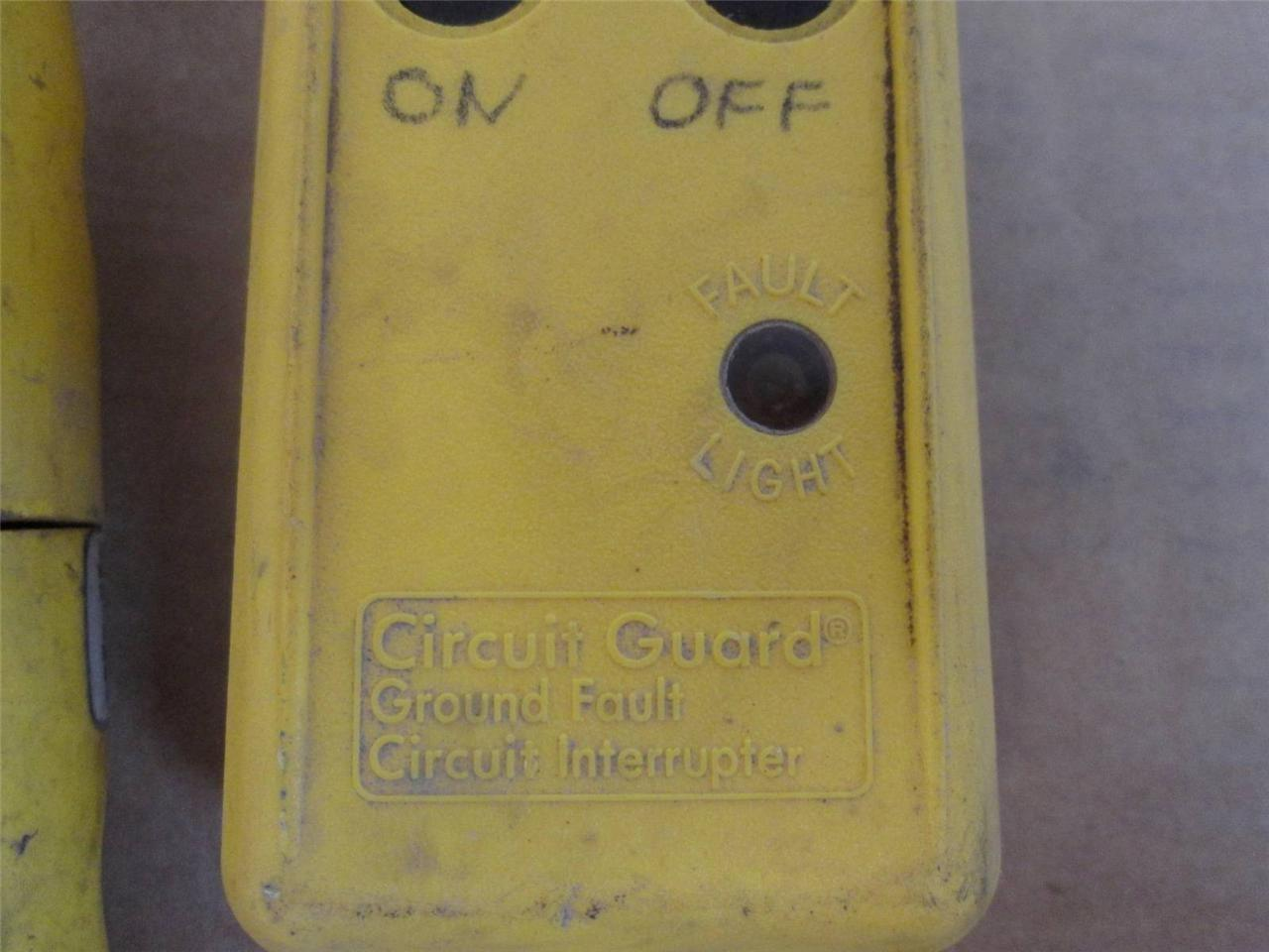 Hubbell Gfp4c15a Class A Portable Ground And 18 Similar Items Fault Circuit Interrupte Interrupter 120v 15a
