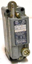 Square D 9007 Aw 38 Limit Interlock Switch, Class 9007, Type Aw 38   Used W/Guar - $45.80