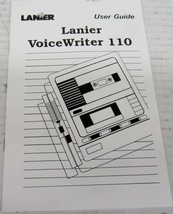 LANIER R-750-418A USER'S GUIDE MANUAL FOR VOICEWRITER 110 - $9.80