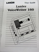LANIER R-75-419A USER'S GUIDE MANUAL FOR VOICEWRITER 160 - $9.80