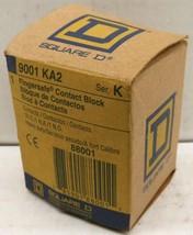 SQUARE D 9001-KA2 9001KA2 FINGERSAFE CONTACT BLOCK, CLASS 9001, TYPE KA2... - $10.89