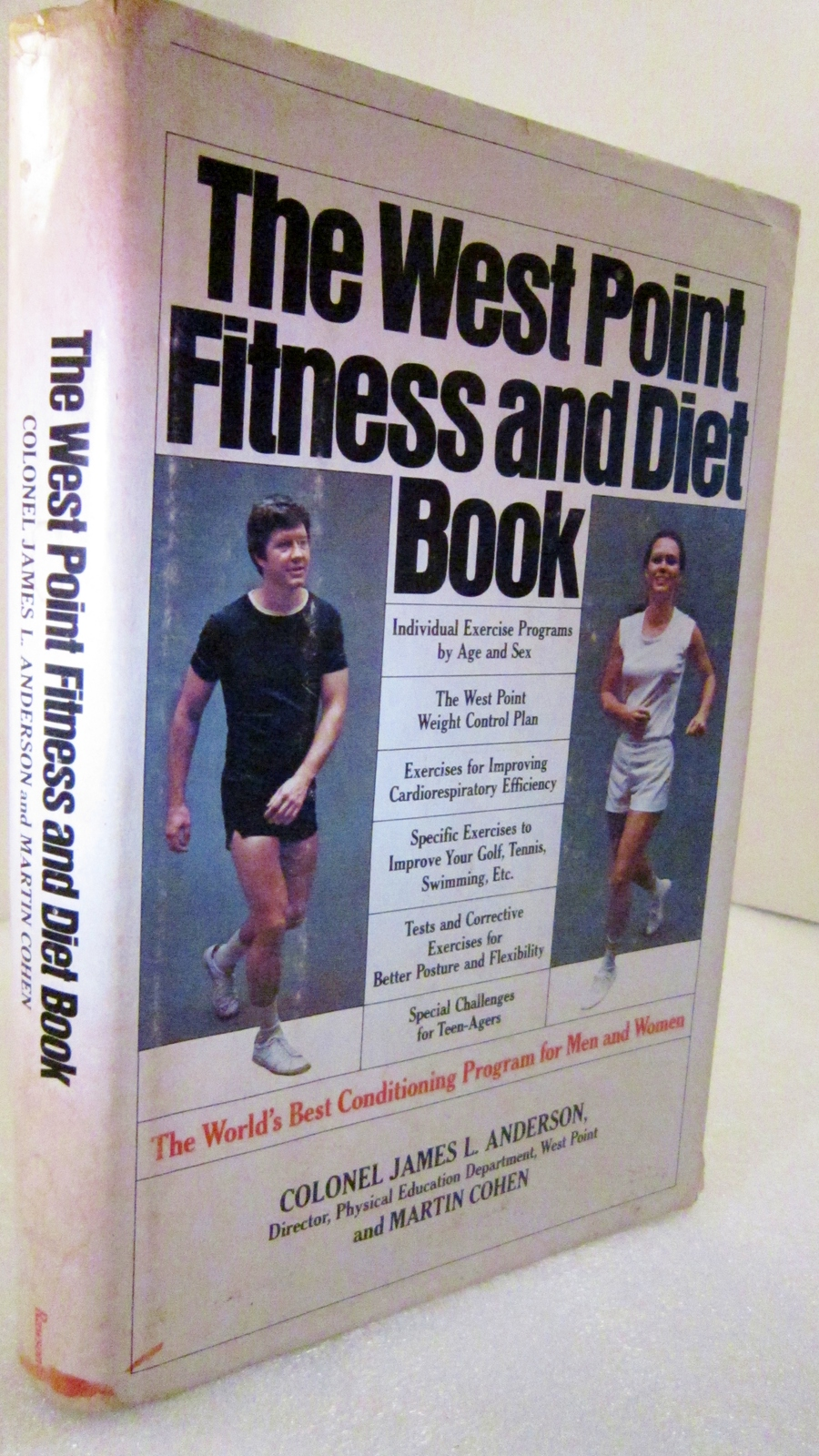 Primary image for West Point Fitness and Diet Book 1977 Col James L Anderson