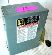 Square D Groupe Schneider D221 N General Duty Safety Disconnect Switch, Series E - $27.74