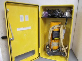 Scott  30 Minute Self Contained Breathing Apparatus Kit w/Encon Wall Cab... - $2,475.00