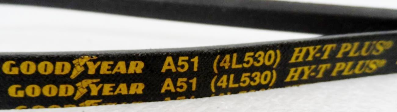 """Top Width 1//2/"""" Thickness 5//16/"""" Length 90/"""" inch V Belt A88 4L900"""