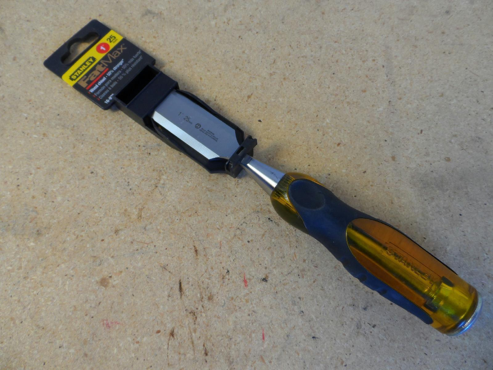 "Stanley Fatmax 1"" Wood Chisel 16-978 New"