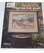 After the Rain Linda Myers Cross Stitch - $5.00