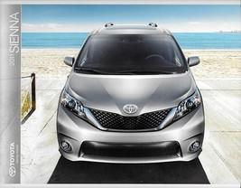 2011 Toyota SIENNA sales brochure catalog 11 US SE XLE Limited - $7.00