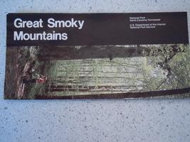 Great Smoky Mountains North Carolina/Tennessee 1987 Travel Brochure - $3.99