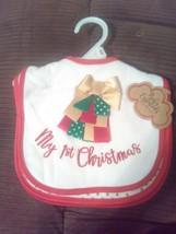 My First Christmas Bib Set of 3 - $14.25