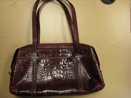 Brighton Leather Top Handle Handbag #C856807 - $75.00
