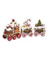 Bejeweled Candy Cane Train Trinket Box - $89.99