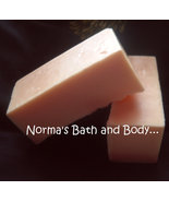 mango goats milk soap sample, soap sample, bath sample, FREE SHIPPING - $2.00