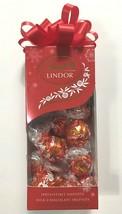 Lindt LINDOR Holiday Traditional Milk CHOCOLATE Truffles Kosher 6.8 OZ Gift Box