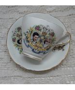 Vintage Regency English Bone China Cup and Saucer - Charles & Diana Wedding - $10.50