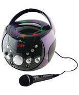 Portable Karaoke Boombox/CD player / Plays CD+G, CD, CD-R/RW discs w/ LE... - $59.95