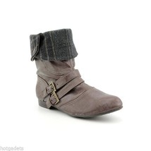 White Mountain Treaty Womens Fashion Ankle Boots Shoes Taupe Smooth Size 8, 9.5 - £25.98 GBP