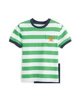 Ralph Lauren Baby Boys Stripe Short Sleeve Cotton Jersey T-Shirt Size 18... - $13.99